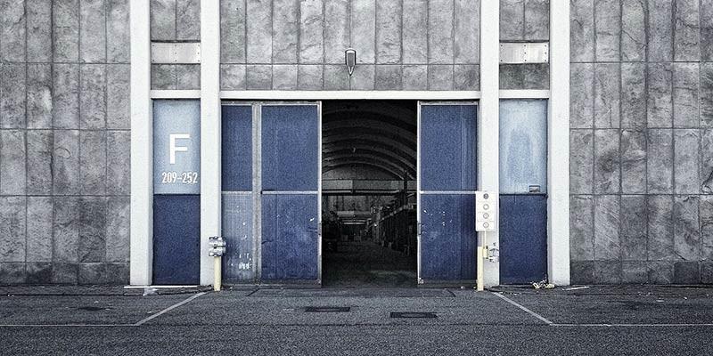 Eingang historische Großmarkthalle Hamburg